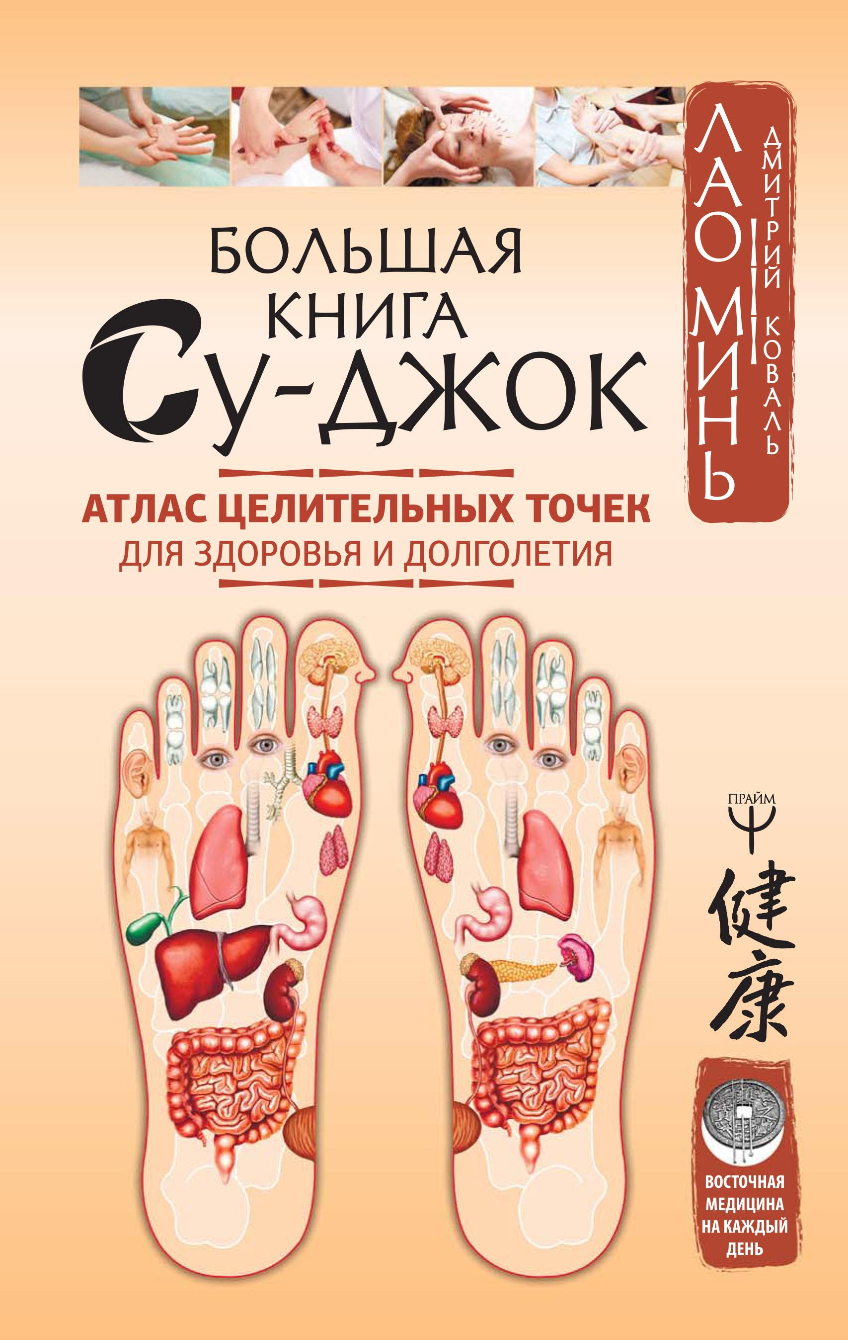 Лао Минь Большая книга Су-джок. Атлас целительных точек для здоровья и долголетия лао минь исцеляющие точки нашего организма подробный атлас