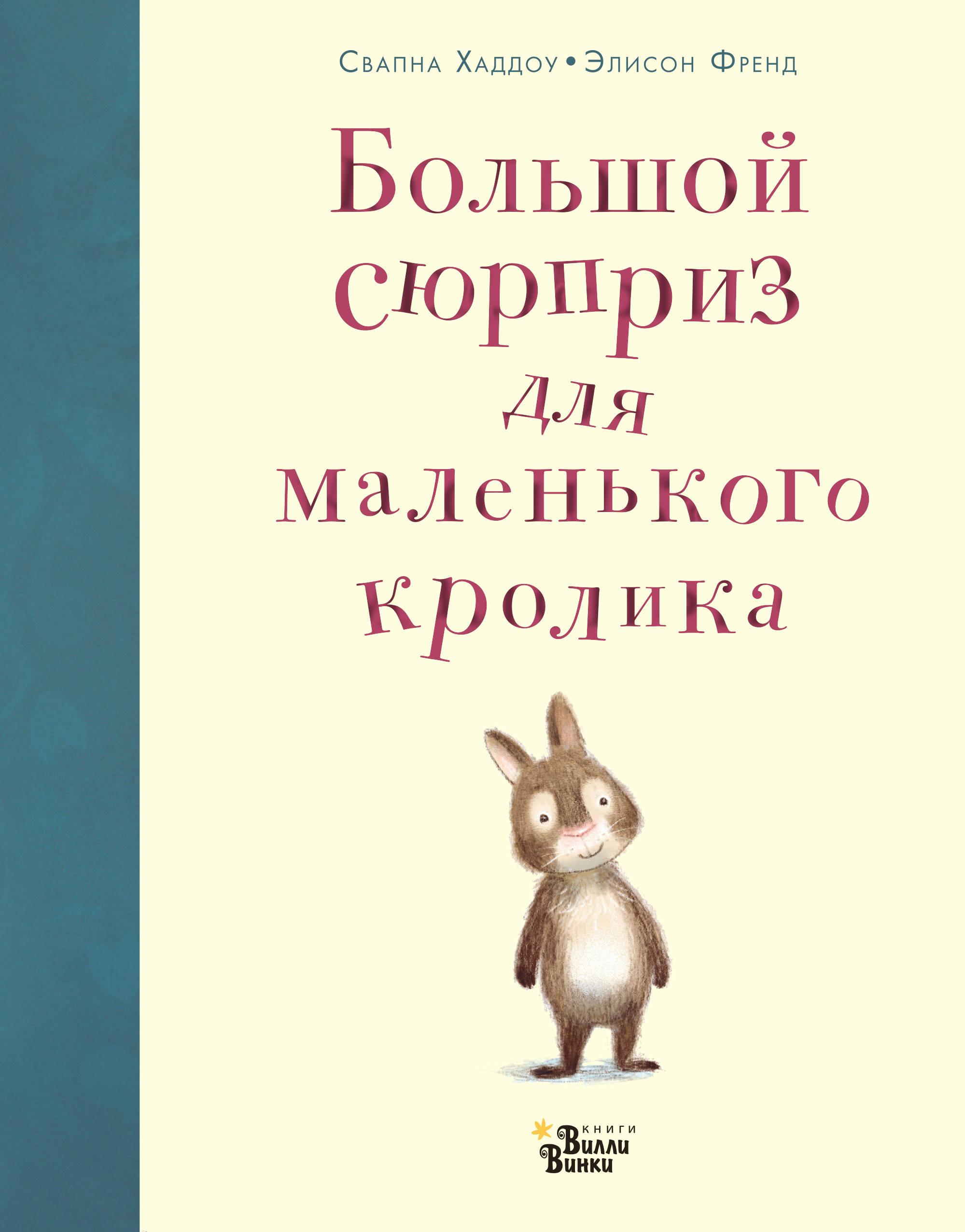 Купить со скидкой Большой сюрприз для маленького кролика