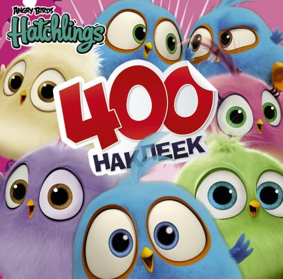 Angry Birds. Hatchlings. 400 наклеек - фото 1