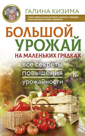 Галина Кизима - Большой урожай на маленьких грядках. Все секреты повышения урожайности обложка книги