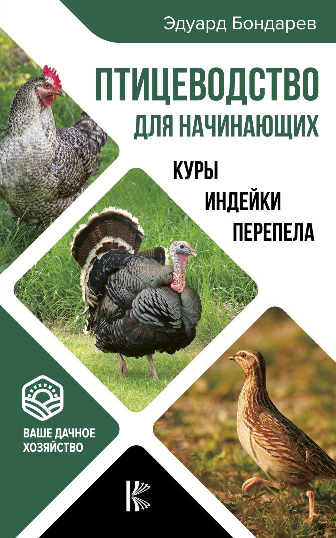 Птицеводство для начинающих. Куры, индейки, перепела Эдуард Бондарев