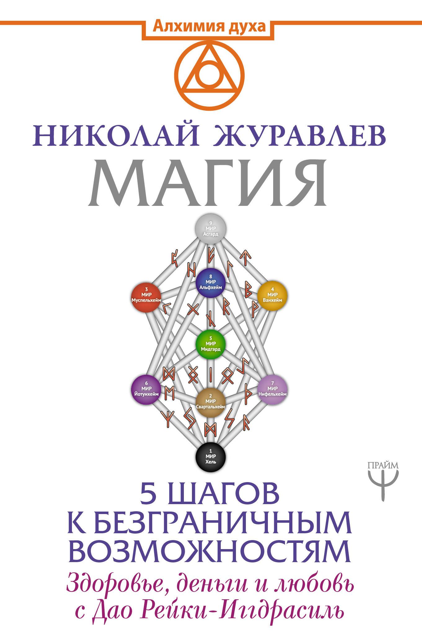 Николай Журавлев Магия. 5 шагов к безграничным возможностям. Здоровье, деньги и любовь с Дао Рейки-Иггдрасиль