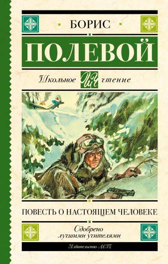 Б. Н. Полевой - Повесть о настоящем человеке обложка книги