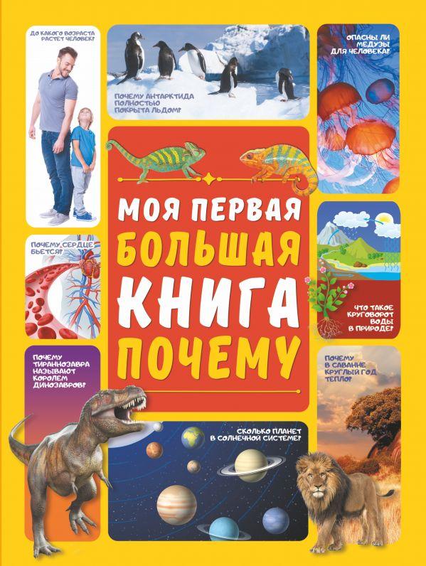 Фото - Ермакович Дарья Ивановна Моя первая большая книга ПОЧЕМУ чудесная планета земля