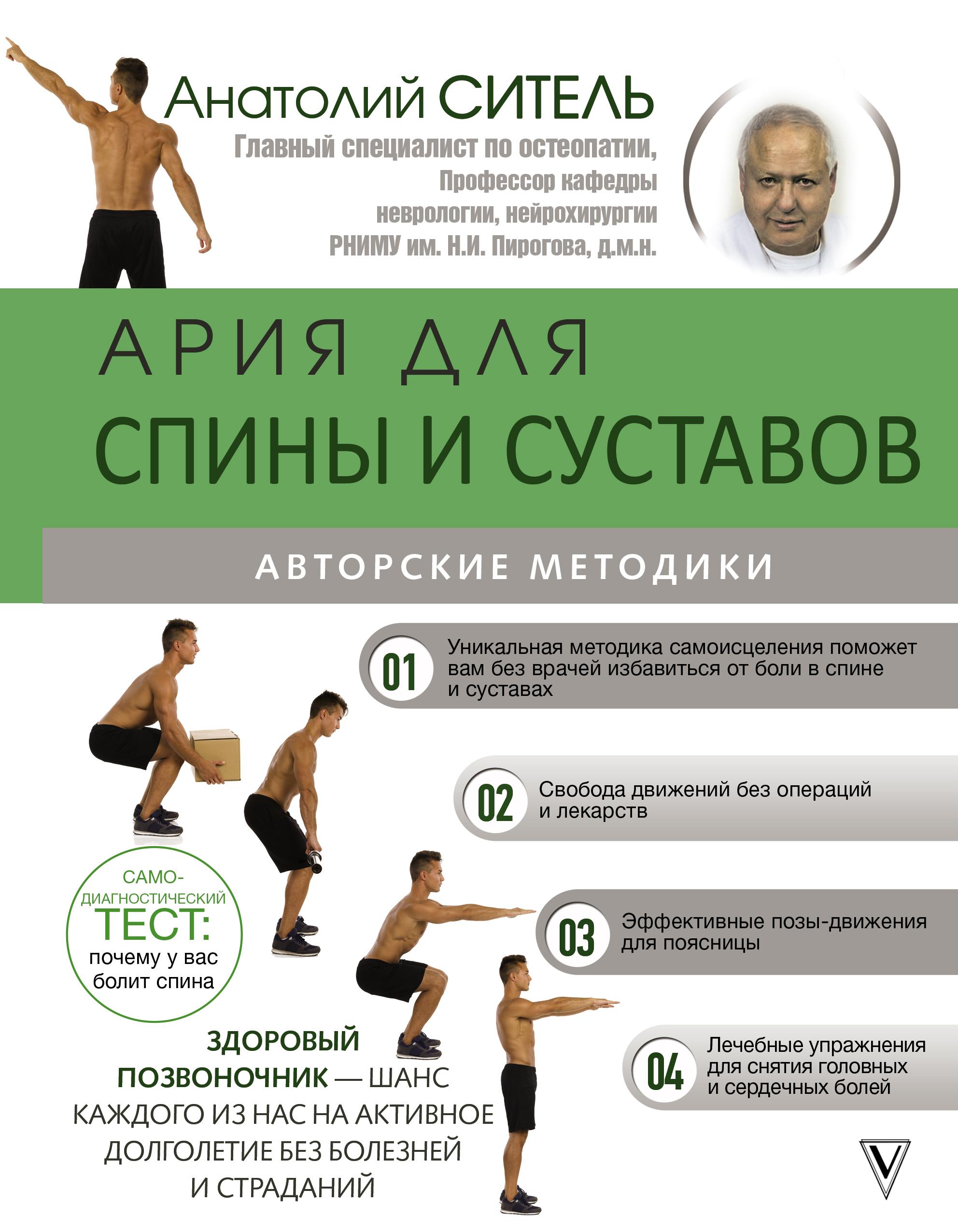 Ситель Анатолий Ария для спины и суставов: авторские методики