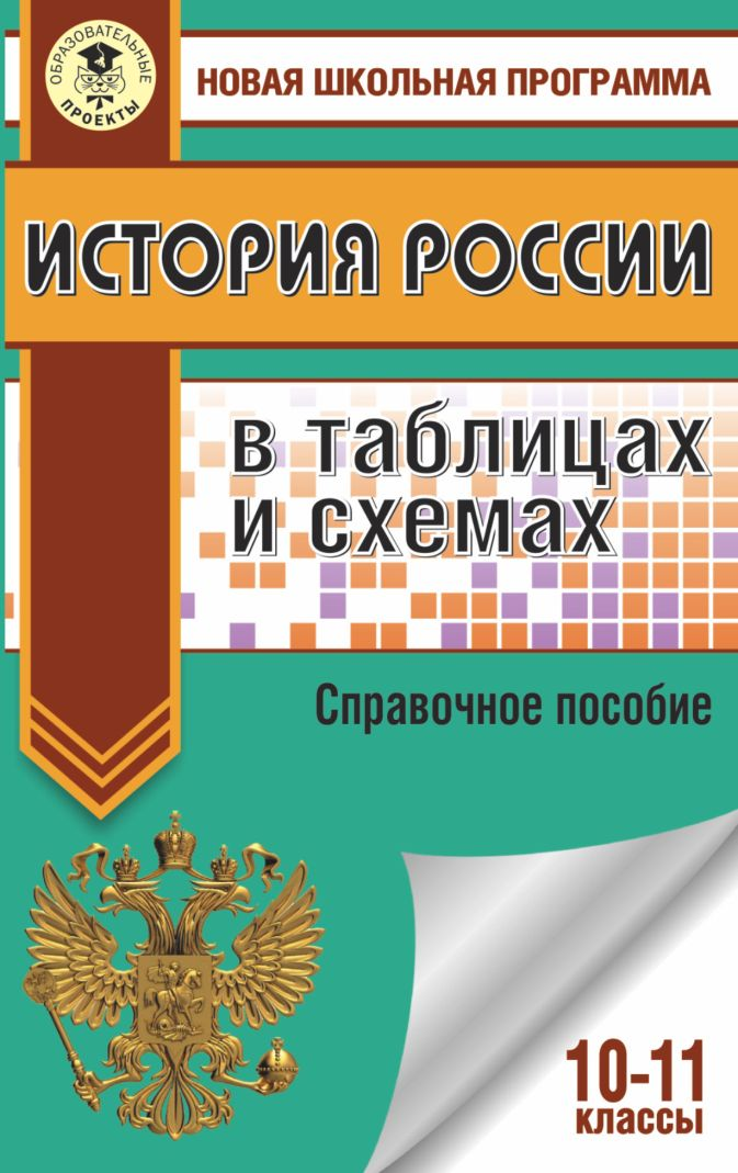 ЕГЭ. История России в таблицах и схемах. 10-11 классы П. А. Баранов