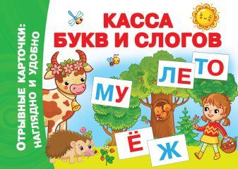 Двинина Л.В. - Касса букв и слогов обложка книги