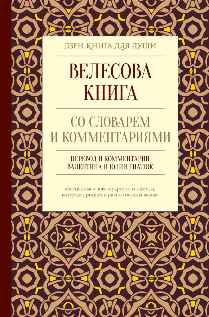 Гнатюк В.С., Гнатюк Ю.В. - Велесова книга со словарем и комментариями обложка книги