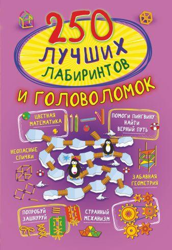 Попова И.М. - 250 лучших лабиринтов и головоломок обложка книги