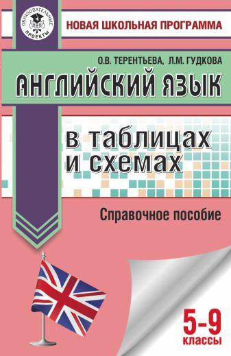 Л. М. Гудкова, О. В. Терентьева - ОГЭ. Английский язык в таблицах и схемах для подготовки к ОГЭ обложка книги