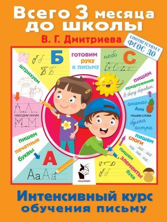 Дмитриева В.Г. - Интенсивный курс обучения письму обложка книги