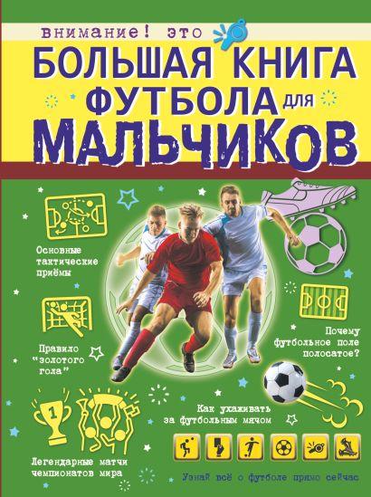 Большая книга футбола для мальчиков - фото 1