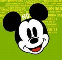 50112.Блокнот косой Mickey mouse А7