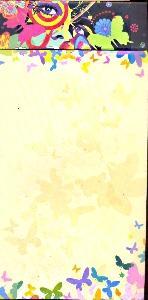 """50152.Блокнот с магнитом на подложке """"Reily"""""""