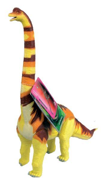 G. Модель подвижная Брахиозавр, оранжевая  CL183KR
