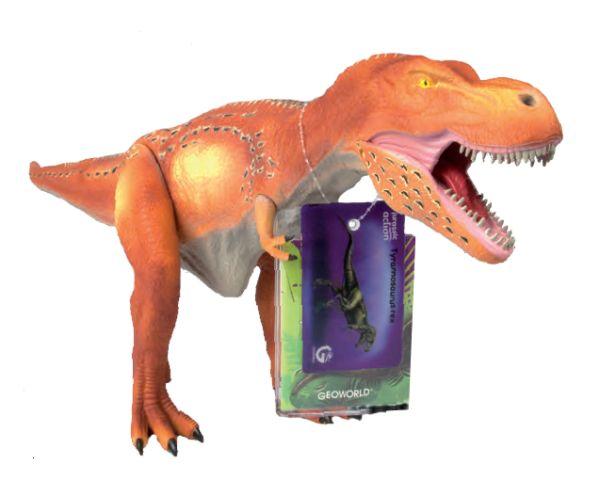 G. Модель подвижная Тираннозавр, оранжевая CL186KR