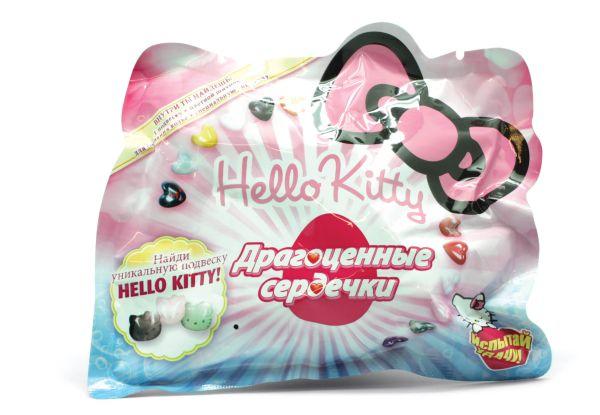 Мини товар. Hello Kitty .Драгоценные сердечки(1бол.кор=8Х12мал)