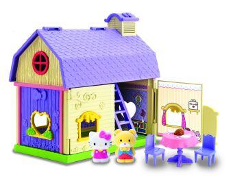 "HK.003900.Игровой набор Hello Kitty ""Домик друзей"" (лиловый)"