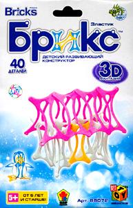 K.SH.Конструктор Брикс 3D. 40 дет.Домик.арт.JH8807B