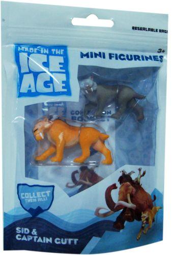 Игровой набор. Ледниковый период. 2 фигурки 5 см.в  пакете Zip-Lock.L. 237029.