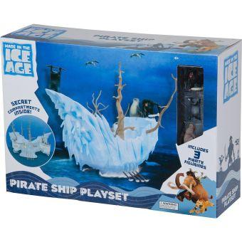 Игровой набор. Ледниковый период. Пиратский Корабль+3 фигурки 5см.L. 237050.