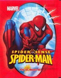 "SPIDER-MAN.""Набор наклеек""(1 бол.кор= 24 мал.кор.х 50 шт.)"
