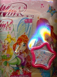 "Winx.Журнал ""Волшеб.приключение""№12/2011"