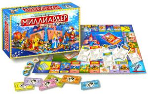 Наст.игр.:ТГ.игра экономическая. Миллиардер В мире сказок арт.00115