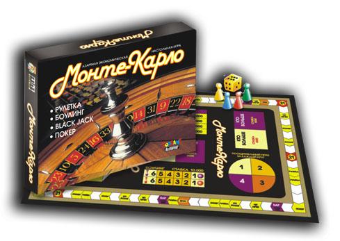 Наст.игр.:ТГ.игра экономическая. Монте-Карло арт.00018