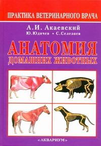 Анатомия домашних животных Акаевский А.И.