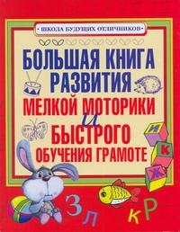 Большая книга развития мелкой моторики и быстрого обучения грамоте