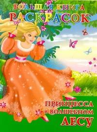 Большая книга расскрасок. Принцесса в волшебном лесу - фото 1