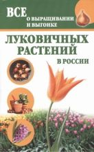 Литвинова Т. - Все о выращивании и выгонке луковичных растений в России' обложка книги