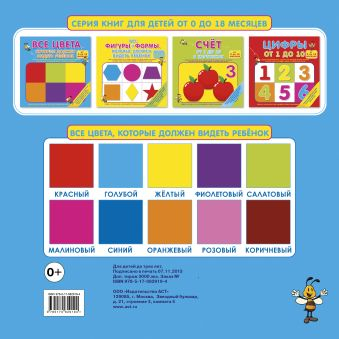 Все цвета, которые должен видеть ребенок