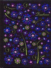 Дневник шк.тв.Цветочный узор-45381
