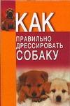 Давыденко В.И. - Как правильно дрессировать собаку' обложка книги