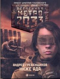 Андрей Гребенщиков - Метро 2033: Ниже ада обложка книги