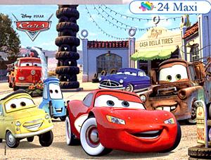 Clem(OLD).Пазл 24К.24361 Cars макси шиномонтаж