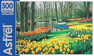 Пазл. 500А. 2153 Сад тюльпанов