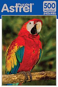 Пазл. 500А. 5820 Попугай красный