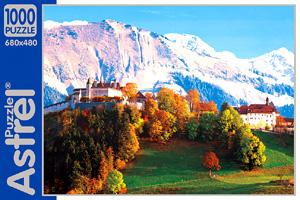 Пазл.1000А.02185 Горы,монастырь Фрибург