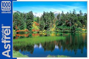 Пазл.1000А.04218 Озеро в лесу
