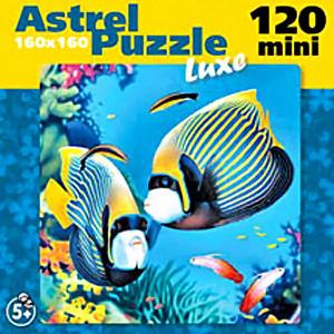 Пазл.120А.6490 Тропические рыбки 4в