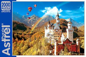 Пазл.2000А.2228 Бавария радуга