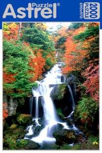 Пазл.2000А.4382 Водопад Япония