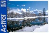 Пазл.2000А.5838 Зимний пейзаж