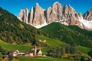 CLem.Пазл. 2000эл. Классика.32527 Италия, Вид на Доломитовые Альпы