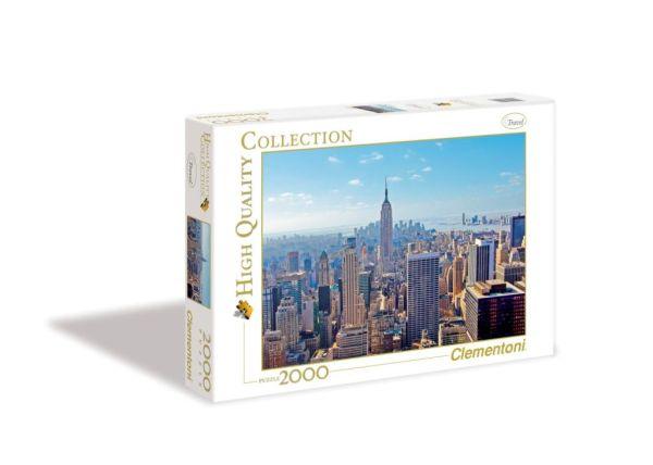 CLem.Пазл. 2000эл. Классика.32544 Вид на небоскрёбы Нью-Йорка (n)