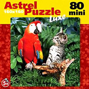 Пазл-мини 80А.6483 Люб.животные