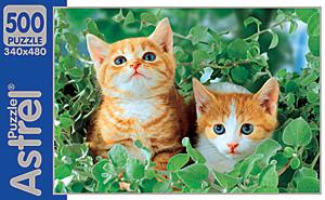 Пазлы 500А. 4195Два котенка
